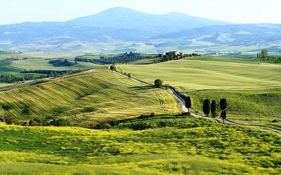 נוף כפרי תמונות של שדות צילומים _terrapille-tuscany-italy