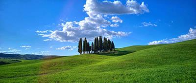נוף כפרינוף כפרי  איטליה   toscana  טוסקנה