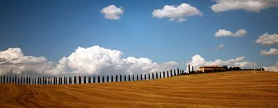 נוף כפרי toscane טוסקנה   איטליה