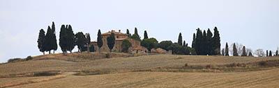 Val-d Orcia   נוף כפרי  - איטליה   טוסקנה