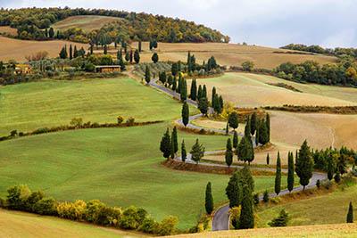 נוף כפריתמונות של שדות צילומים  נוף כפרי   איטליה טוסקנה