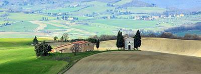 נוף כפרינוף כפרי  איטליה   טוסקנה   תמונות של שדות צילומים