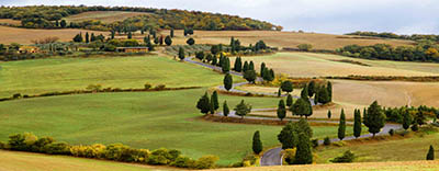 נוף כפרי  - איטליהנוף כפרי  - איטליה