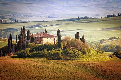 נוף כפרי - טוסקנה תמונות של שדות צילומים נוף כפרי - טוסקנה    italy_tuscany_summer_countryside_landscape_nature_trees_sky_green_field