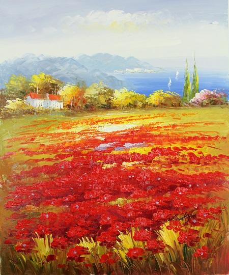 פרחים  ונוף פרחים  נוף   129