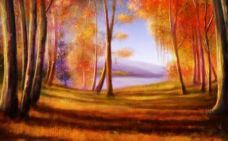 עצים ונוף עצים ונוף 129