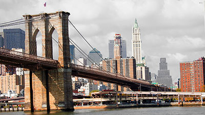 ניו יורק   New York City-manhattan-  GP_BWCOLOR_1011  גשר _brooklyn-bridge