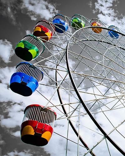 גלגל ענקכדור פורח