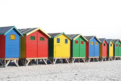 ביתנים צבעוניים