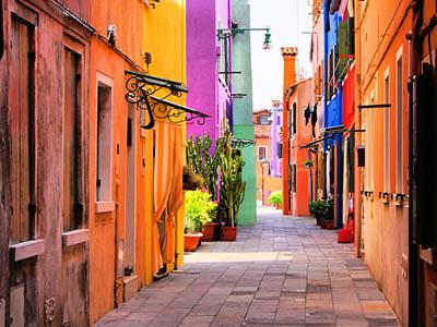 רחוב צבעונירחוב צבעוני__Colors of Old City