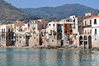 צ'פלו סיציליה איטליה -  Sicily cefaluצ'פלו סיציליה   cefalu sicily איטליה