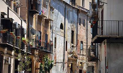 רחובות סיציליה איטליה