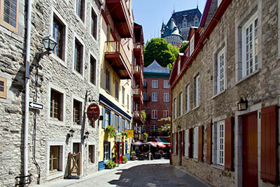 רחוב רחוב  _Old-Quebec-Street