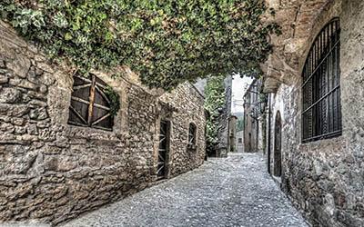 קטלוניה ספרד  _streets_of_mura_catalonia