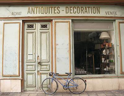 חנות עתיקותחנות עתיקות  אופניים