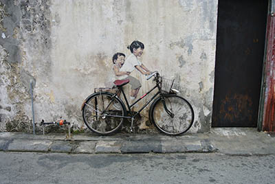Penang Street Art BicyclePenang Street Art Bicycle  אופניים