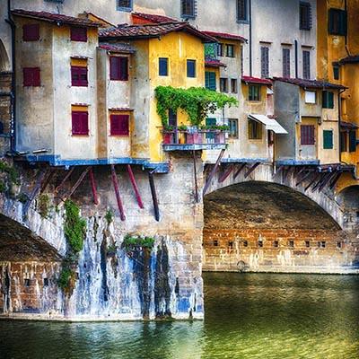 פירנצה -  Bridge House, Ponte Vecchio, Florenceפירנצה -   Bridge House, Ponte Vecchio, Florence