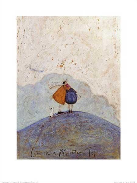 אהבה בראש ההרזוג, הר, נאיבי, חיבוק, אהבה, צבעים, סאם טופו, הר, מחובקים