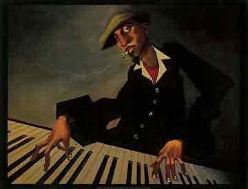 איש הפסנתר 2מוסיקה קלאסי קלסי  ג'ז גז גאז להקה נגנים שחור לבן   הופעה אתני