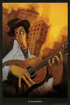 הגיטריסטמוסיקה קלאסי קלסי  ג'ז גז גאז להקה נגנים שחור לבן גיטרה הופעה אתני