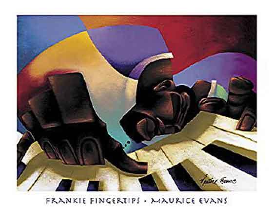 פסנתר אתני גז ג'ז ניגון מנגינה אצבעות