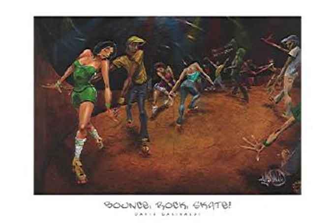 סיבוב החלקה רוקלהקה שמחה מחול ריקוד יחד גז ג'ז ניגון נגינה רוק אנ רול