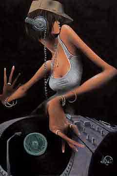 די גיי חופשימוסיקה גריבלדי ג'ז גז גאז שחור לבן הופעה אתני די גי תקליט סי די  זמרת רקדנית בלוז