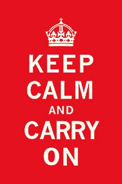 Keep Calm and Carry Onאנגליה, משפט , תכלת, אדום, מילים, טקסט,