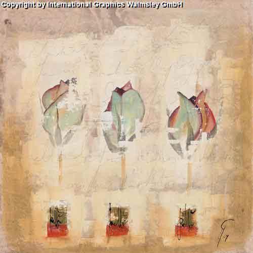 שלישיהעיצוב דקורטיבי פינת אוכל סלון פרח אדום שושן צילום עדין
