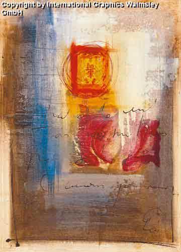 שושן אבסטרקטעיצוב דקורטיבי פינת אוכל סלון פרח אדום שושנה צילום עדין