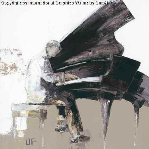 הווירטואוזשחור לבן אפור מוסיקה פסנתר פסנתרן הופעה אבסטרקט דמויות דמות נגן מנגן קלאסי קלסית