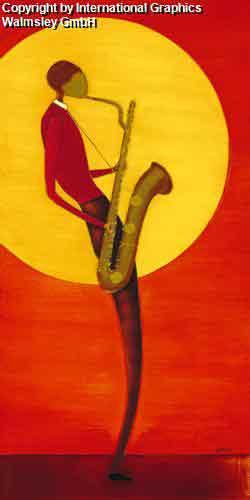 מנגן ג'אזאדום כתום אתני אונה חם הופעה דמויות דמות  קלאסי קלסית חצוצרה