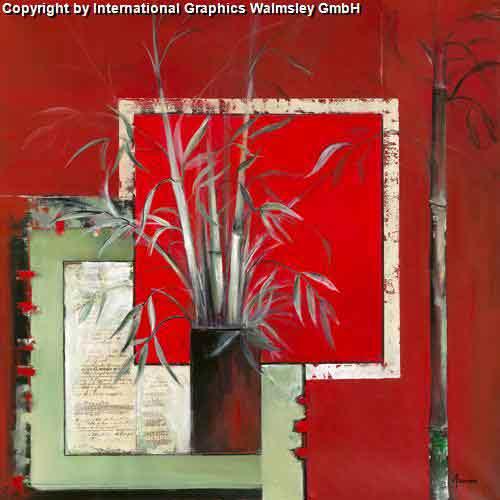 אגרטל במבוקיםפרח ירוק אדום אגרטל ואזה דומם קישוט עיצוב פינת אוכל אוירה