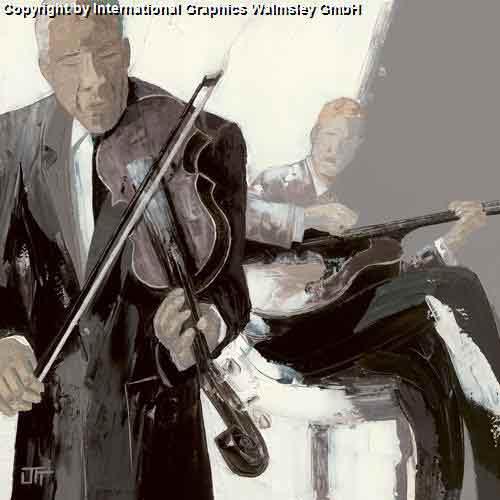 הכנרשחור לבן אפור מוסיקה כינור כלי קשת הופעה אבסטרקט דמויות דמות נגן מנגן קלאסי קלסית