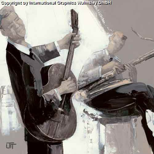 הגיטרהשחור לבן אפור מוסיקה גטרה הופעה אבסטרקט דמויות דמות נגן מנגן קלאסי קלסית