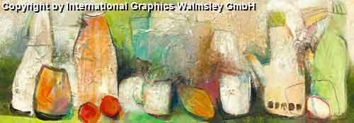 דוממים ברקע ירקרק 2 אבסטרקט מודרני עדין פינת אוכל אגרטל פרח רומנטי שושנה עיצוב מעוצב