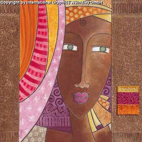 יומנהציור מזרחי אורינטלי צבעים חמים דמויות  נשים משפחה