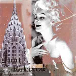 מרלין מונרו אגדה 2סרטים ישנים פופ ארט רומנטי תשוקה אישה יפה ניו יורק קרייזלר רגוע