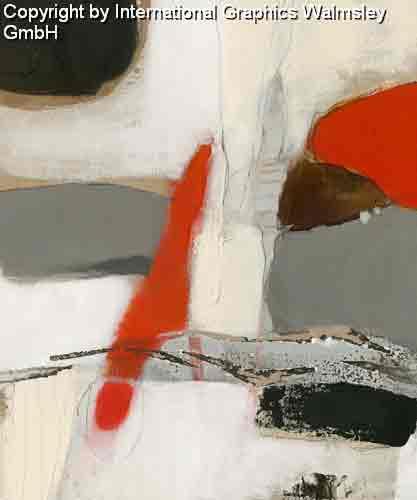צורות וצבעים2אדום שחור לבן עיגול מודרני דקורטיבי עיצוב קווים רצף מחולק חלק