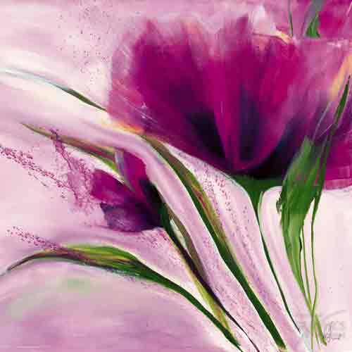 פרח ורוד סיגלית סיגליות סגול בהיר פרח דקורטיבי זר עיצוב הבית מטבח סלון