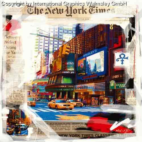 ניו יורק 3 מונית צהוב שחור לבן מנהטן שחור לבן ארצות הברית קולאז' בנינים