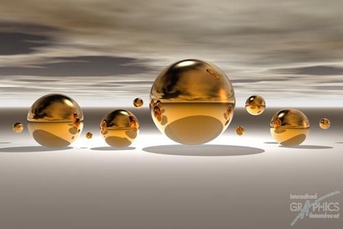 קעריות מוזהבות 2כדורים, זהב, מודרני, זהובים, אבסטרקט, אפור , לבן, שחור, צילום, גולות