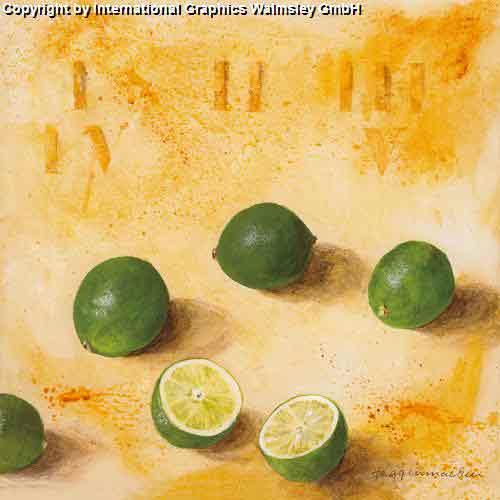 לייםעיצוב מטבח פינת אוכל פירות פרי הדר ירוק