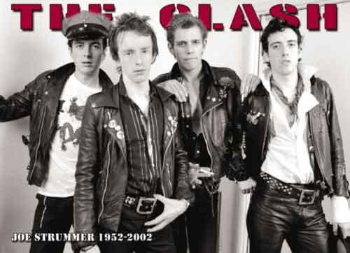 הקלאש מוסיקה זמר רוק קצב פופ רוק כבד The Clash