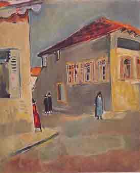 נחום גוטמן - בית כנסת חב