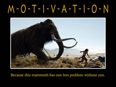 Motivation - mammoth