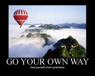 Motivation - Go Your Own Way