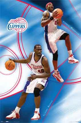 CLIPPERS TEAMספורט  אלוף אליפות אלופים שחקן אנ.בי.איי אן בי איי הקפצה קבוצה הטבעה
