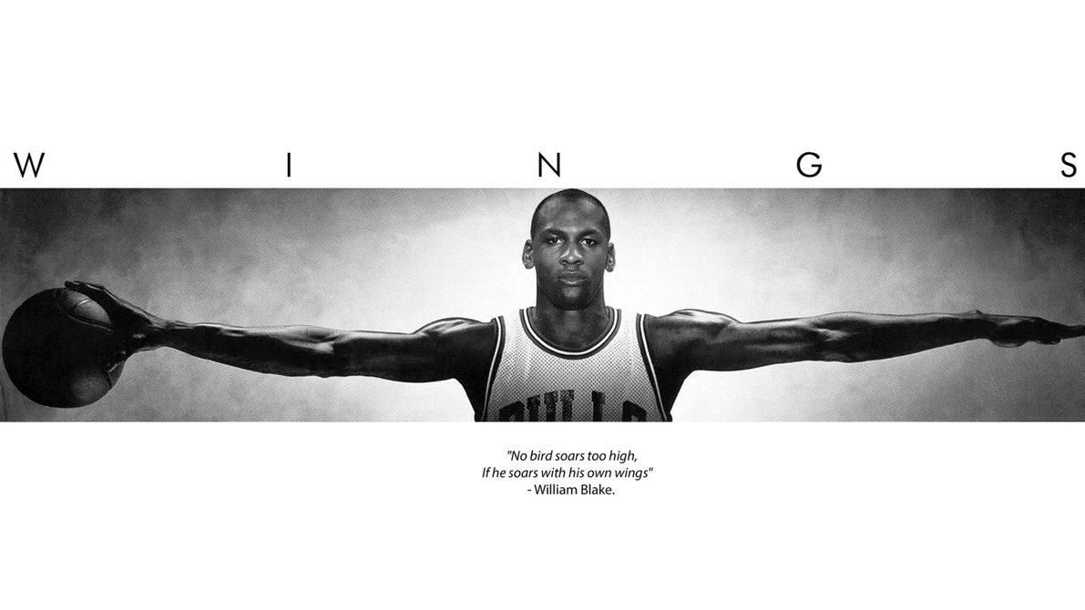 WINGS - מייקל ג'ורדןמייקל ג'ורדן, פוסטר , כנפיים, כדורסל, NBA , אן בי אי, ג'ורדן