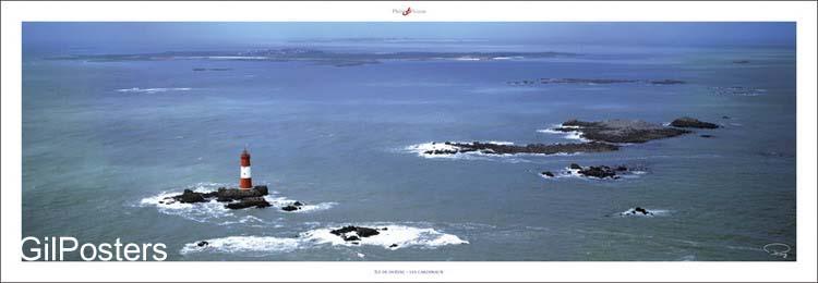 מגדלור על איצרפת  ים אי מגדלור נקודה כחול איים שלווה שקט